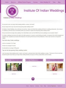 Institute of Indian Weddings